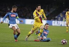 Barcelona vs. Napoli por Champions League: programación de TV, diales y horarios del partido desde el Camp Nou