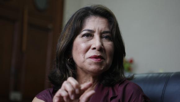 Martha Chávez (Fuerza Popular) podría ser investigada por la Comisión de Ética (Foto: GEC)