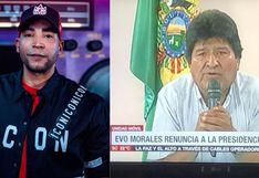 Evo Morales: Don Omar celebra la renuncia del presidente y envía mensaje a bolivianos