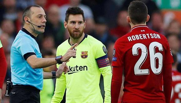 El Barcelona-Napoli será dirigido por el árbitro de la debacle en Anfield contra Liverpool. (Foto: EFE)
