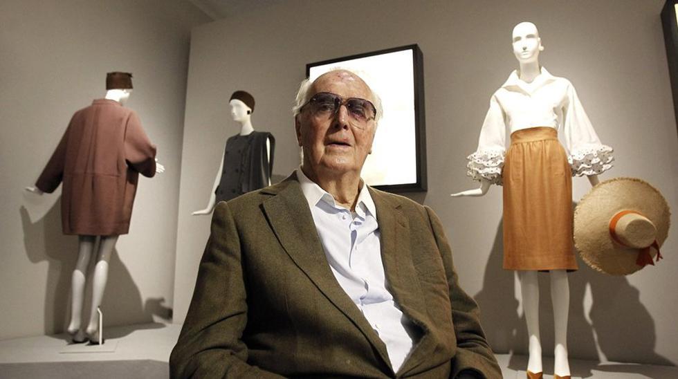 Hubert de Givenchy. (Foto: Agencias)