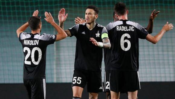Gustavo Dulanto jugó 90 minutos en el estreno de FC Sheriff Tiraspol en la Champions League. (Foto: Reuters)