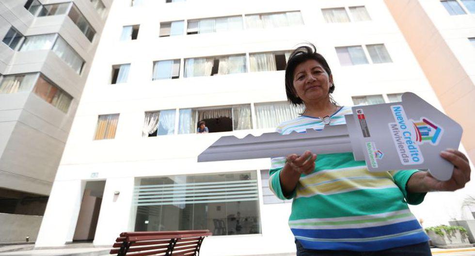 Hoy 20 entidades (8 bancos y 12 microfinancieras) ofrecen financiamiento para compra de vivienda social, según el Fondo Mivivienda.  (Difusión)