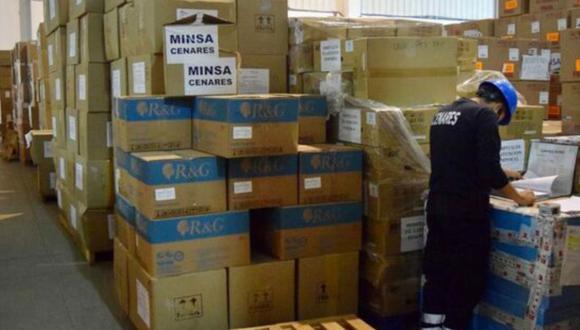 El Minsa entregó a la región Cusco, en lo que va del año, un total de 19,661.6 kilos de suministros médicos valorizados en S/ 3′313,254.70. Foto: Minsa