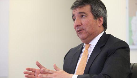 Raúl Pérez Reyes, ministro de la Producción, ofreció su primera entrevista a El Comercio.