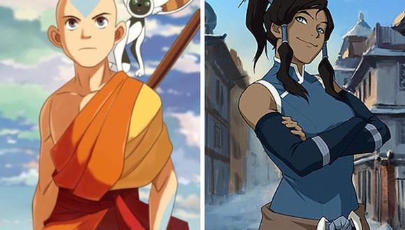 Tanto Aang como Korra cambian significativamente desde el primer episodio hasta el último (Foto: Nickelodeon)