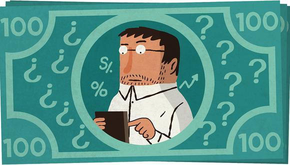 Test de economía (Ilustración: Víctor Aguilar Rúa)