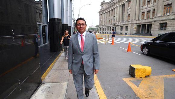 Humberto Abanto es investigado, junto a otros árbitros, por supuestamente haber favorecido a Odebrecht a cambio de pagos ilícitos. (Foto: Hugo Curotto/GEC)