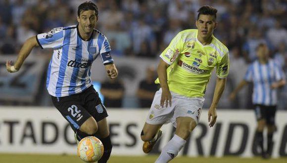 Racing remontó y venció 3-2 a Táchira por Copa Libertadores