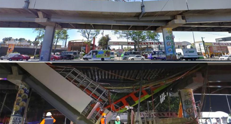 Before and after: what the Olivos station of Metro Line 12 looked like in Mexico City