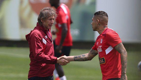 El estratega de la selección peruana se refirió al momento que vive el capitán blanquirrojo, quién sufrió una lesión en la rodilla que lo alejarán varios meses de los campos de juego. (Foto: El Comercio)