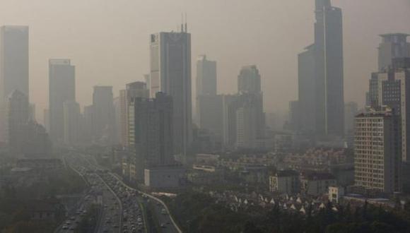 ¿El smog impide a Shanghái ser el centro financiero mundial?