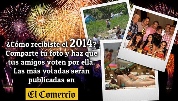 Comparte tu foto de Año Nuevo y muestra cómo recibiste el 2014