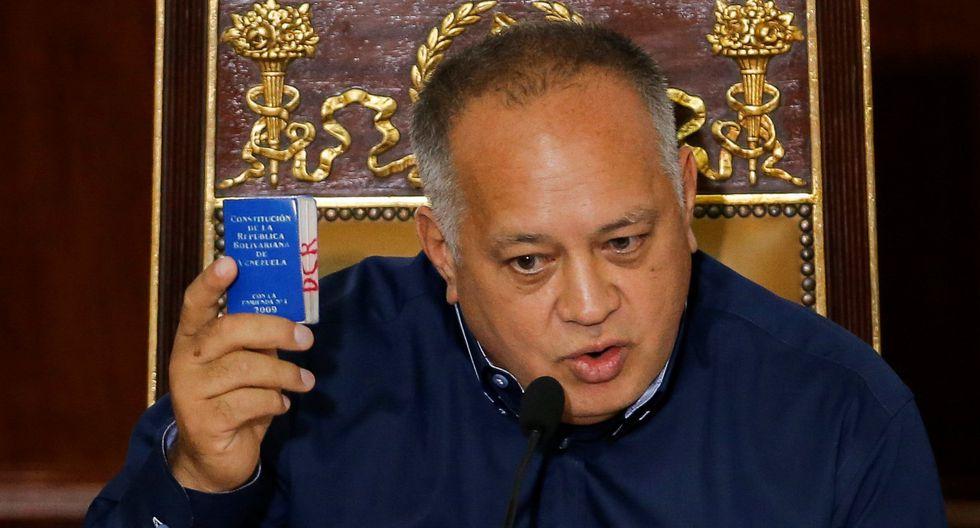 El adelanto de las elecciones legislativas es una advertencia que viene haciendo Diosdado Cabello desde hace meses, debido a que, ha señalado, el Parlamento se encuentra en situación de desacato. (Reuters)
