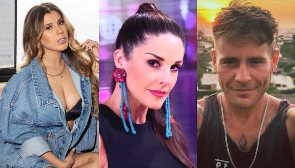 Rebeca Escribens envía mensaje a Yahaira Plasencia y Pancho Rodríguez tras ser ampayados en fiesta. (Foto: Composición/ Instagram)