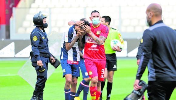 Alianza Lima jugará el próximo año en la Liga 2 del torneo peruano, tras quedar en zona de descenso en el torneo profesional. Directivos esperan fallo a uno de los reclamos en la FPF con el que buscan salvar la categoría. (Foto: Liga 1)