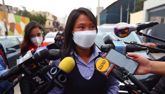Keiko Fujimori es acusada de lavado de activos y otros delitos. La Fiscalía ha solicitado 30 años y 10 meses de prisión en su contra. (Foto: Hugo Curotto / @photo.gec)