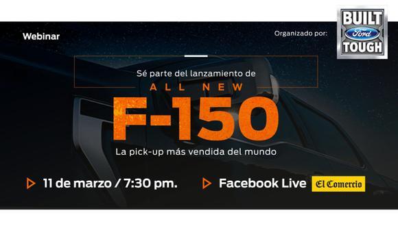 Ford lanzará este 11 de marzo el nuevo modelo de la F-150, la pick-up más vendida del mundo. (Difusión)