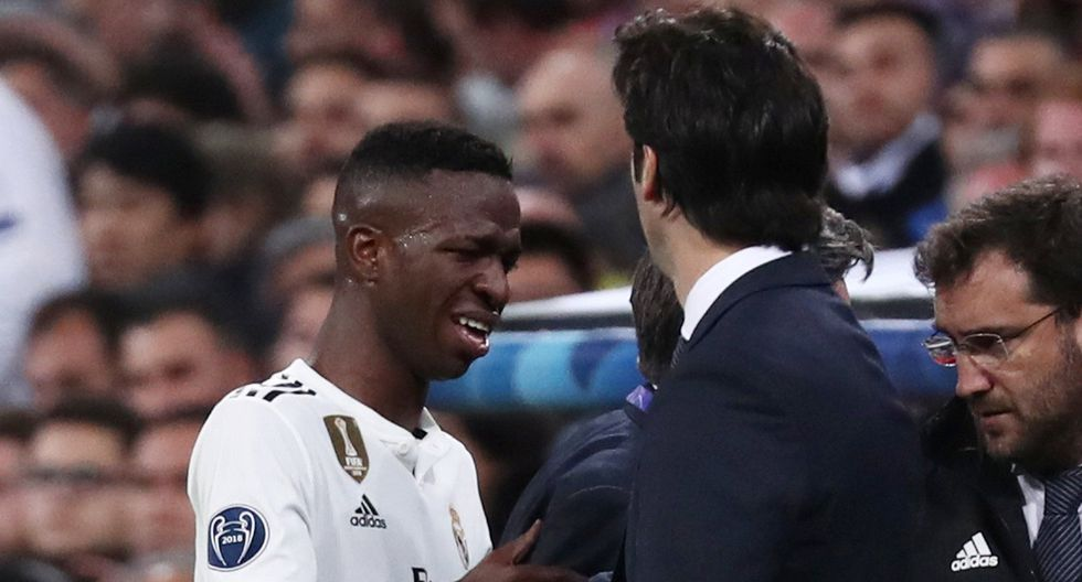 Real Madrid vs. Ajax: Vinicius Júnior y su desgarrador llanto tras ser cambiado por lesión. (Foto: Reuters)
