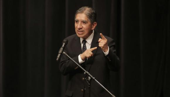 Agravios contra Avelino Guillén ocurrieron el martes 14 de setiembre. (Foto: Archivo El Comercio / Renzo Salazar)