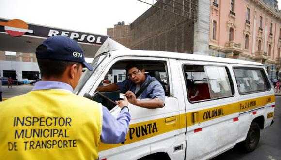 Lima y Callao sancionarán a vehículos piratas desde el lunes 15