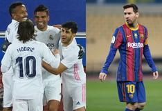 Real Madrid y Barcelona: ¿cuándo y a qué hora juegan por LaLiga?