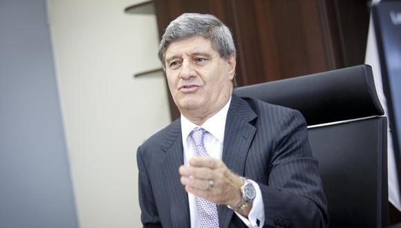Raúl Diez Canseco pidió a los militantes de Acción Popular reflexionar sobre la desunión. (Foto: Grupo El Comercio)