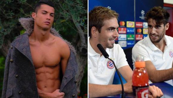 Bayern Múnich se burla así del abrigo de Cristiano Ronaldo