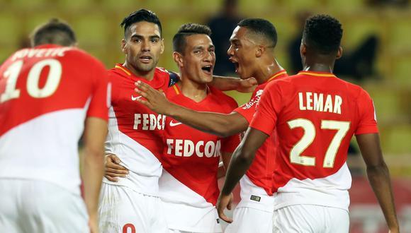 Mónaco se enfrentará este martes a Besiktas (1:45 p.m. EN VIVO por ESPN 2 ) por la tercera fecha de la Champions League. El colombiano Falcao será titular. (Foto: AFP)