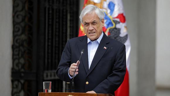 Sebastián Piñera anuncia bono único por más de 100 dólares para más de un millón de personas. (AFP).