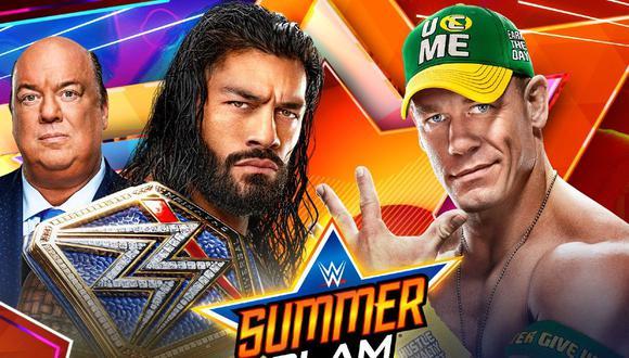 Roman Reigns pondrá el título en disputa ante John Cena. (WWE)