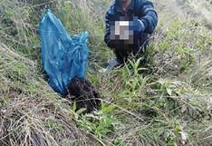 Huancavelica: hallan restos óseos en descampado que serían de menor desaparecida