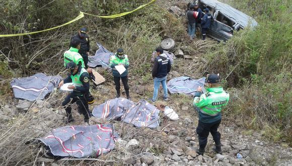 El conductor del vehículo declaró que una falla mecánica habría sido el motivo del siniestro.  (Foto: Rudy Espíritu)