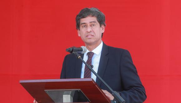 Carlos Lozada Contreras es titular del MTC tras la salida de Edmer Trujillo. (Foto: Difusión)