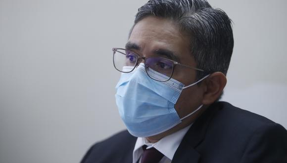 El fiscal del equipo Lava Jato, José Domingo Pérez, solicita que no se modifique modalidad de audiencia contra Keiko Fujimori este lunes 21 de junio | Foto: Hugo Pérez / El Comercio