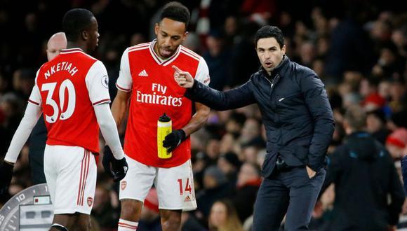 La Premier League se suspendió luego de que se confirmara que Mikel Arteta, entrenador del Arsenal, diera positivo a la prueba de coronavirus. (Foto: AFP)