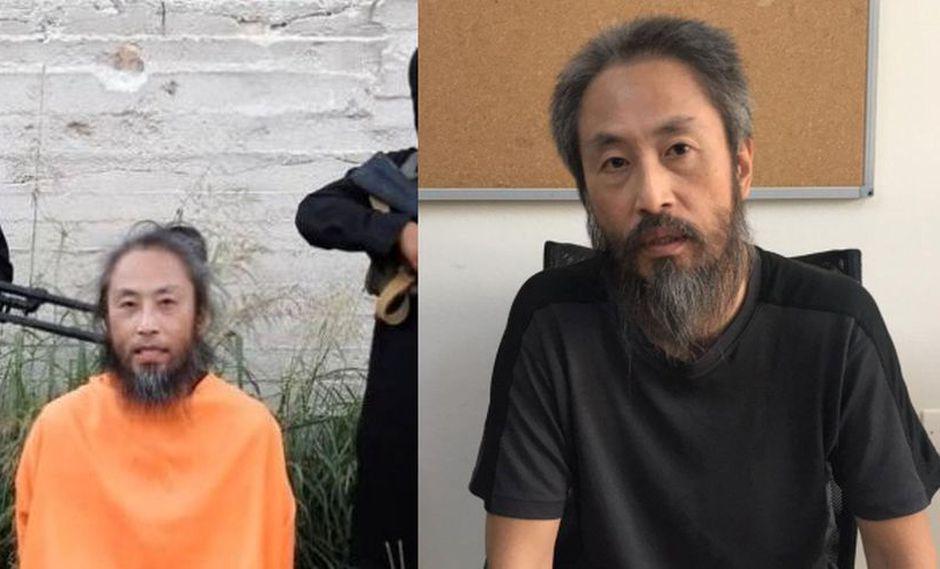 Jumpei Yasuda apareció en un video de rehenes el pasado 1 de agosto de 2018, ahora fue liberado. (Foto: Captura de Youtube / Reuters)