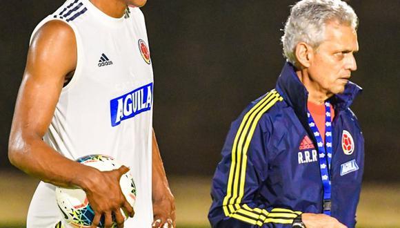 Reinaldo Rueda analizó a la selección peruana. (Foto: @FCFSeleccionCol)