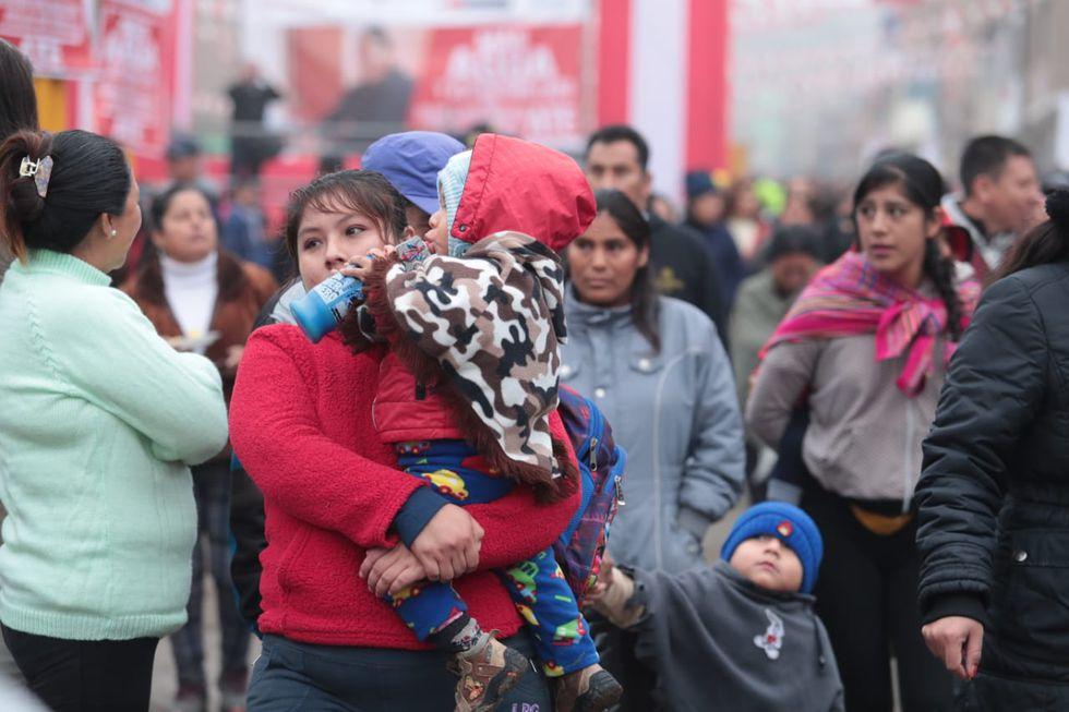 Según el Senamhi, este invierno como es el más húmedo de los últimos 50 años (Foto: Hugo Pérez).
