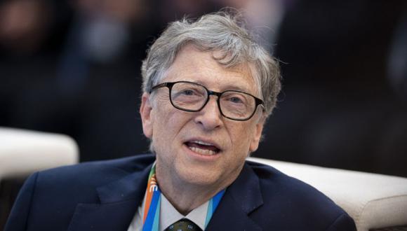 Bill Gates, fundador de Microsoft. (Foto: AFP)
