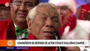 """Guillermo Campos: compañeros de """"Risas y salsa"""" y sus emotivos mensajes de despedida"""