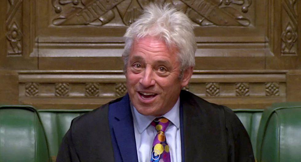 John Bercow: El presidente de la Cámara de los Comunes dimitirá el próximo 31 de octubre | Reino Unido. (Reuters).