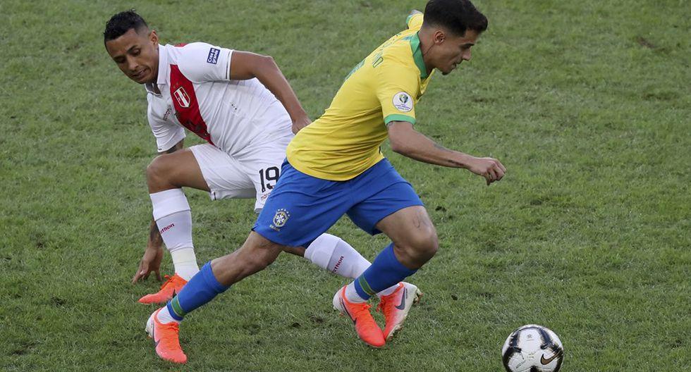 Perú vs Brasil. (Foto: AFP)