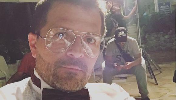 Herrera hoy tiene 51 años y continúa trabajando como actor en Colombia (Foto: Julio César Herrera / Instagram)