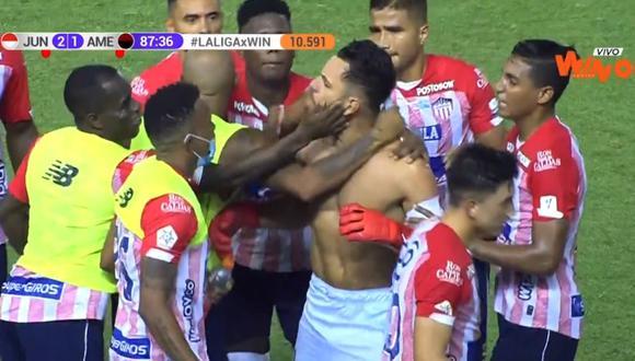 Junior, líder de la Liga Betplay, enfrenta a América de Cali en el Metropolitano de Barranquilla | Foto: WIN SPORTS+