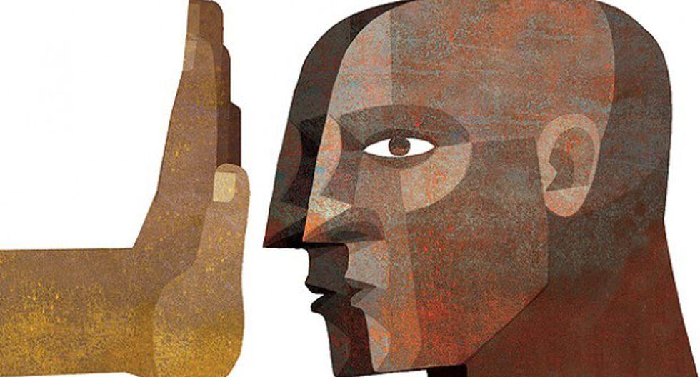 """""""Si la imagen de un mesías treintañero nacido en Judea nos ha llegado con ojos azules, ¿cómo no iba a ocurrir con la de un escritor afrobrasileño?"""" (Ilustración: Giovanni Tazza)"""