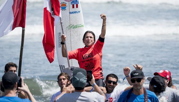 Sofía Mulanovich defenderá su título en El Salvador. (Foto: ISA)