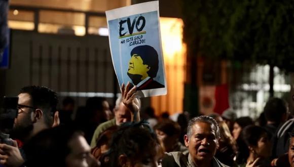 """¿En qué consiste el """"asilo político"""" de México a Evo Morales? Foto: El Universal de México/ GDA"""