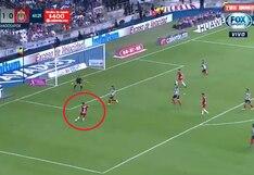 Monterrey vs. Chivas: Miguel Ponce venció a Barovero con un potente remate para convertir el 1-1 | VIDEO