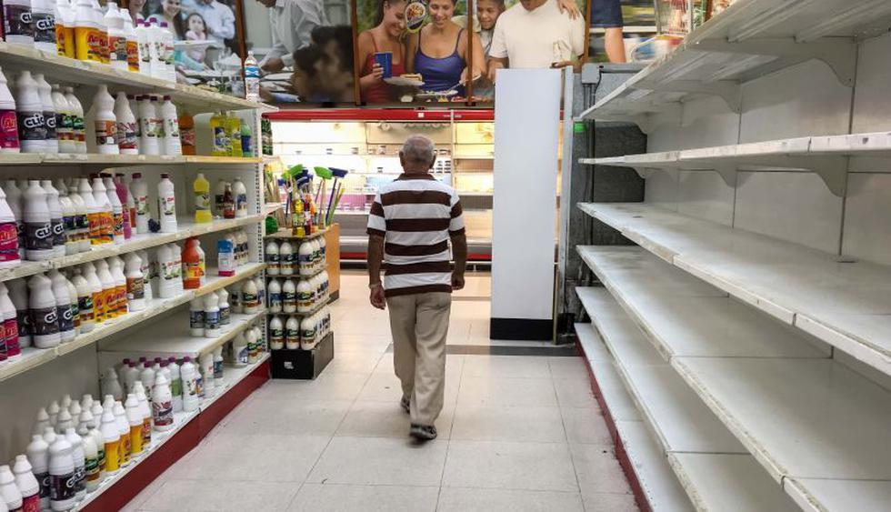 Venezuela: Estantes vacíos tras una semana de medidas económicas de Nicolás  Maduro   FOTOS   MUNDO   EL COMERCIO PERÚ